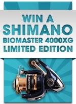 WIN a Shimano Biomaster 4000 XG Limited Edition!