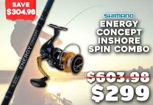 Shimano NASCI C5000 XG FB and Energy Concept Inshore Spin Jig Combo 6ft 8in 90-160g PE1-2 2pc