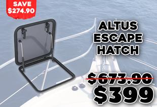 Altus APAC Escape Hatch 581x581mm Black
