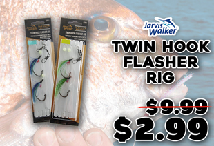 Jarvis Walker Twin Hook Flasher Rig