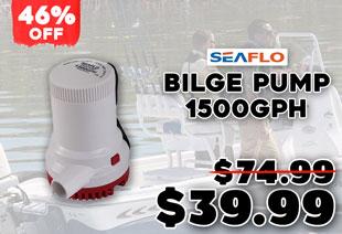 Seaflo 2000 Bilge Pump 12v 1500GPH