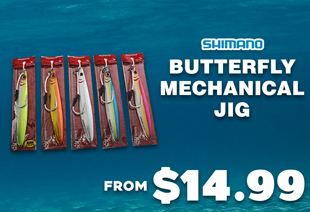 Shimano Butterfly Flat-Side Mechanical Jig