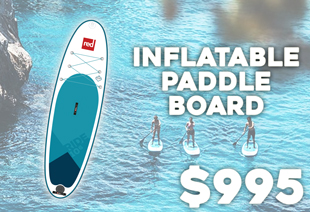 Red Paddle Co 2017 Ride 10'6'' Inflatable Stand Up Paddle Board
