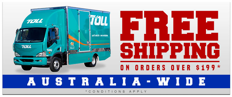 Free Shipping, Australia-wide!
