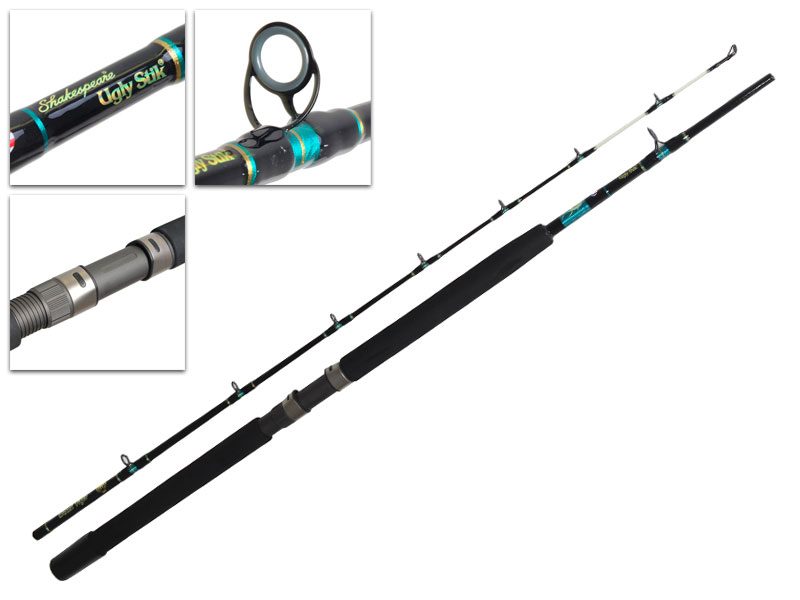 Ugly stik black tiger heavy duty 50lb overhead rod 7ft 5 for Ugly stick fishing