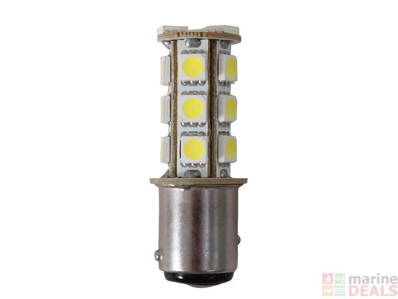 Buy 18 Led Bayonet Bulb Double Contact Parallel Pins 12v