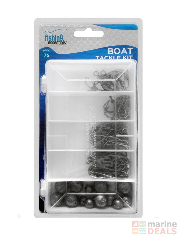 Buy fishing essentials boat tackle kit online at marine for Essential fishing gear