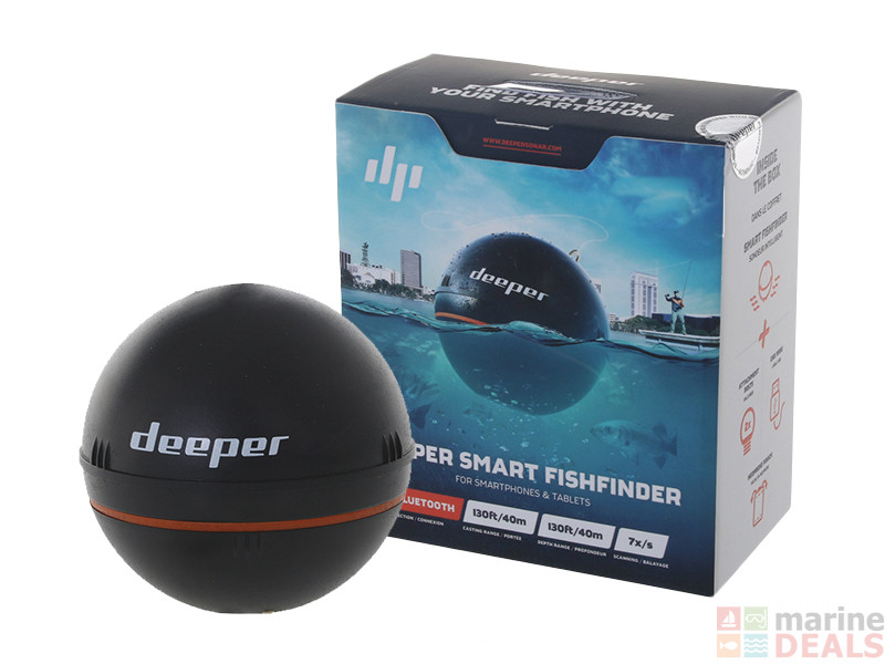 Buy deeper smart portable bluetooth fishfinder online at for Bluetooth fish finder