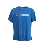 Shimano Lure'd In Kingfish T-Shirt Cyan Blue