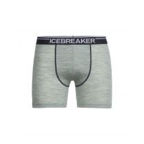 Icebreaker Mens Merino Anatomica Boxers Seaglass Heather