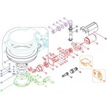 TMC Electric Marine Toilet Waste Water Impeller
