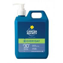 Cancer Society Everyday Lotion SPF30 Bulk Sunscreen 1L