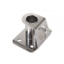 Stainless Steel Stanchion Socket for 1 Pole Stainless Steel Stanchion Socket 27mm