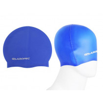 Aropec Adult Silicone Swim Cap Blue