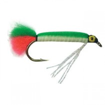 Black Magic Lumo Green Doll Trout Fly Qty 1