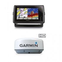 Garmin GPSMAP 741XS Chartplotter with GMR 18HD Radar