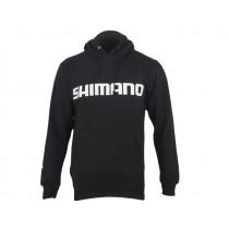 Shimano Fleece Hoodie Black Medium