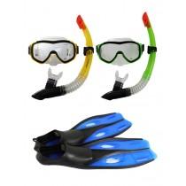 Hammerhead Mask Snorkel and Fin Snorkeling Set