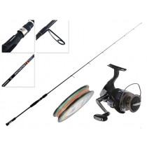 Shimano Nexave and Colt Sniper Slow Jigging Combo with Braid 6ft 3in 6-15lb 1pc