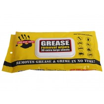 Grease Removal Hand Wipes