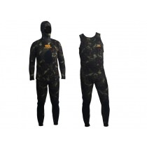 Aropec Open Cell Spearfishing Wetsuit Mens 3.5mm 2pc Camo