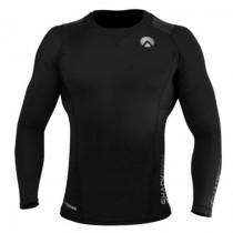 Sharkskin Compression R-Series Mens Long Sleeve Top Black