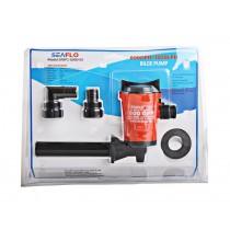 Seaflo Horizontal Livewell Live Bait Pump 12V