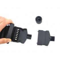 Trojan 7 Pin Trailer Plug Female - Screw End