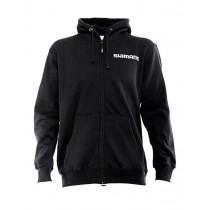 Shimano Black Zip-Up Fleece Hoodie