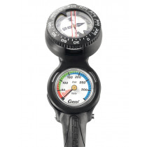 Cressi Console CP2 Mini Pressure Gauge with Compass