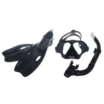 Mirage Challenger Adult Mask Snorkel and Fins Set