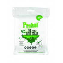 Peebol Pocket-Sized Portable Toilet 3-Pack