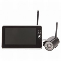 Digital Wireless Surveillance Package with LCD/DVR and Camera