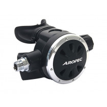 Aropec Apollo-A Adjustable Second Stage Regulator Silver/Black