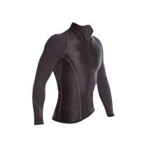 Sharkskin Performance Wear Mens Long Sleeve Rash Top Black