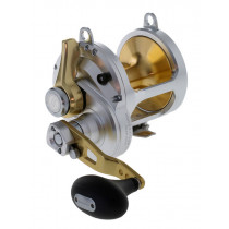 Shimano Talica 25 and Abyss Stand Up 2-Speed Game Combo 5'6'' 50-80lb 2pc