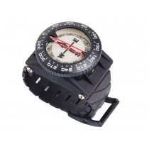 Aropec Wrist Dive Compass with Side View and Holder