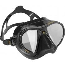 Cressi Nano Black Mask with HD Mirrored Lens