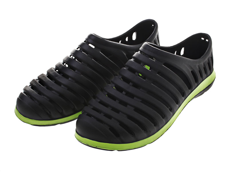 Kiwi fishing boat shoes black green mens us12 ebay for Fishing shoes for the boat